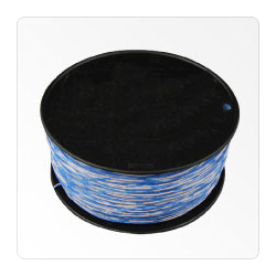 1 PAIR CROSS CONNECT, BL/WH, WH/BL, 1000FT/SPOOL