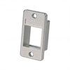 1 PORT PANEL MOUNT BEZEL KEYSTONE INSERT - NO LOGO, NICKEL