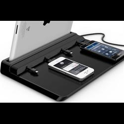 TELEADAPT TA-10000L UNIVERSAL USB CHARGER, BLACK