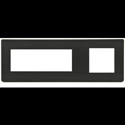 TELEADAPT TRIM KIT COVERPLATE FOR TA-3350 + TA-7500 SERIES, BLACK