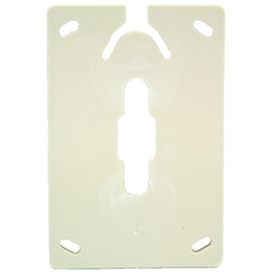 WALL JACK SPACER FOR TM630 SERIES, IVORY