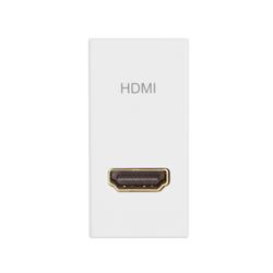 TELEADAPT 25MM - MINI CLIP HDMI MODULE FEMALE TO FEMALE, WHITE