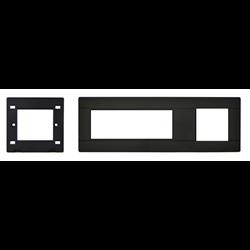 TELEADAPT MINI CLIP EXTENDER TRIM PLATE, BLACK