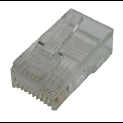 10P10C RJ50 STRANDED MOD PLUG, 10PCS/PKG