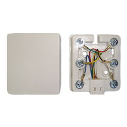 SURFACE JACK 6C WITH ADHESIVE TAPE, WHITE