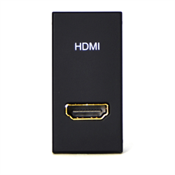 TELEADAPT 25MM - MINI CLIP HDMI MODULE FEMALE TO FEMALE, BLACK