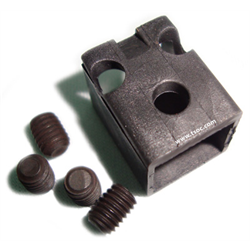 Modular Plug lock for R45 with T10 Torx and 3/32 Hex Screws Part # MP-RJ45LKBK