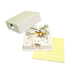 SURFACE JACK 4C WITH ADHESIVE TAPE, WHITE
