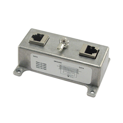 INDOOR SURGE PROTECTOR CAT6 RJ45 FEMALE TO RJ45 FEMALE