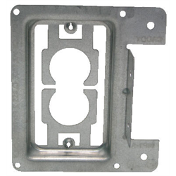 METAL PRE-CONSTRUCTION BRACKET FOR FLUSH MOUNTING WALL PLATES MP1S STYLE (EACH)
