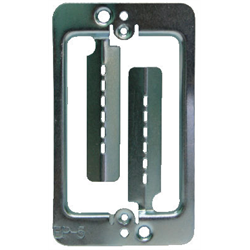 METAL BRACKET WITH SCREWS FOR FLUSH MOUNTING WALL PLATES MPLS STYLE (EACH)