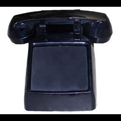 REFURBISHED SINGLE LINE NO DIAL DESK PHONE 2500 SERIES, BLACK